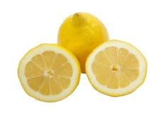 Tres limones Imagenes de archivo