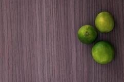 Tres limones foto de archivo
