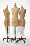 Tres maniquíes 02 Foto de archivo
