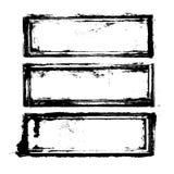 Tres marcos Imagen de archivo