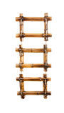 Tres marcos de bambú de la foto imagen de archivo