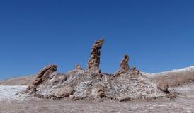 Tres Marias, Valle de la Luna, Atacama Desert, CHile Stock Photos