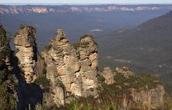 Tres montañas de las hermanas Imagenes de archivo