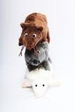 Tres mouses de la felpa Imagen de archivo