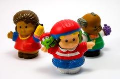 Tres muñecas 1 Imagen de archivo libre de regalías