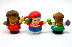 Tres muñecas 3 Foto de archivo libre de regalías