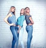 Tres muchachas Foto de archivo libre de regalías