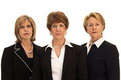 Tres mujeres de negocios maduros Foto de archivo libre de regalías