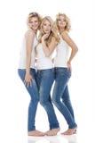 Tres mujeres jovenes Foto de archivo
