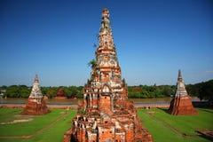 Tres pagodas Fotos de archivo libres de regalías