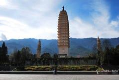 Tres pagodas de Dali Imagenes de archivo