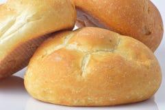 Tres panes de pan Foto de archivo