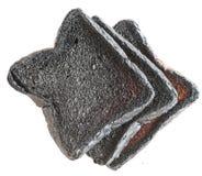 Tres panes de pan quemado del pan Fotos de archivo libres de regalías