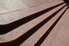 Tres pasos de progresión de piedra Fotos de archivo libres de regalías