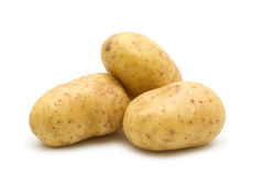 Tres patatas Fotos de archivo libres de regalías