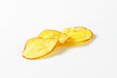 Tres patatas fritas foto de archivo