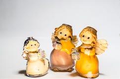 Tres pequeños ángeles Foto de archivo libre de regalías