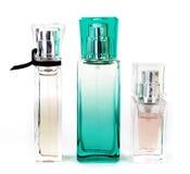 Tres perfumes Fotos de archivo