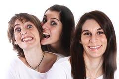Tres personas Imágenes de archivo libres de regalías