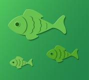 Tres pescados. Imagen de archivo