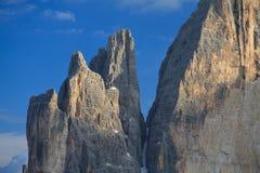 Tres picos Imágenes de archivo libres de regalías
