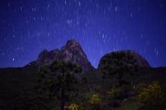 Tres picos de Nova Friburgo - PETP Imagen de archivo libre de regalías