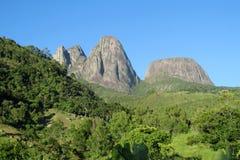 Tres Picos, forêt tropicale atlantique, Brésil Images libres de droits
