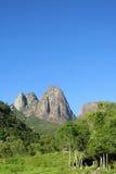 Tres Picos nationalparksemesterort Arkivbild