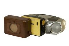 Tres radio-fijaron Imagen de archivo