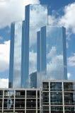 Tres rascacielos en París Foto de archivo libre de regalías