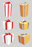 Tres regalo 2 Fotografía de archivo