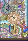 Tres relojes Imagen de archivo libre de regalías