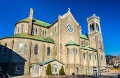 Tres-Saint-Sacrement Church in Quebec City, Canada Stock Photo
