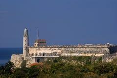 Tres Santos Reyes Magnos del Morro Fort, Havana, Cuba. Tres Santos Reyes Magnos del Morro Fort in Havana, Cuba Royalty Free Stock Images