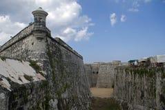 Tres Santos Reyes Magnos del Morro Fort, Havana, Cuba Royalty Free Stock Image