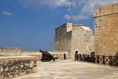 Tres Santos Reyes Magnos del Morro Fort, Havana, Cuba. Tres Santos Reyes Magnos del Morro Fort in Havana, Cuba Royalty Free Stock Photos