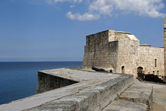 Tres Santos Reyes Magnos del Morro Fort, Havana, Cuba Royalty Free Stock Photo