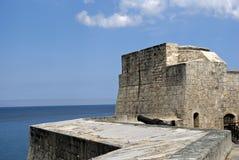 Tres Santos Reyes Magnos del Morro Fort, Havana, Cuba. Tres Santos Reyes Magnos del Morro Fort in Havana, Cuba Stock Photos