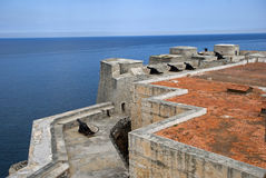 Tres Santos Reyes Magnos del Morro Fort, Havana, Cuba. Tres Santos Reyes Magnos del Morro Fort in Havana, Cuba Stock Images