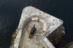 Tres Santos Reyes Magnos del Morro Fort, Havana, Cuba Stock Photography