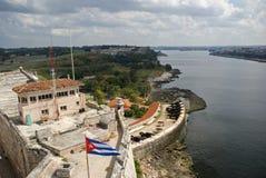 Tres Santos Reyes Magnos del Morro Fort, Havana, Cuba Royalty Free Stock Photography