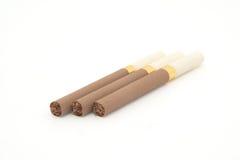 Tres sigarettes Imagen de archivo