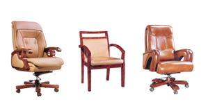 Tres sillas Imágenes de archivo libres de regalías