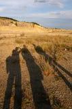 Tres sombras Fotos de archivo