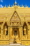 Tres soporte-de oro-Budda imágenes de archivo libres de regalías