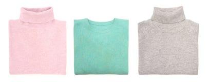 Tres suéteres Imagen de archivo libre de regalías