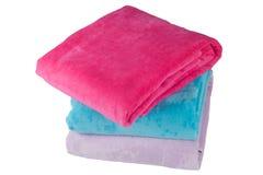 Tres toallas Imágenes de archivo libres de regalías