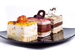 Tres tortas Foto de archivo