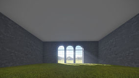 Tres ventanas Libre Illustration