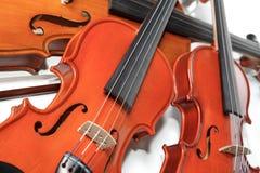 Tres violines Imagen de archivo libre de regalías